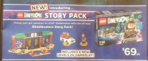 $69 LEGO Dimensions Story Pack @ Big W