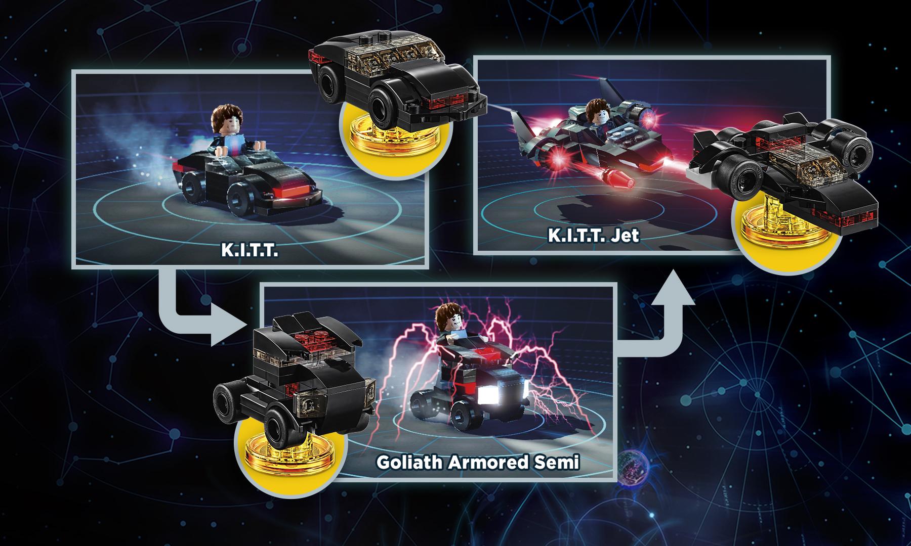 LEGO Dimensions Knight Rider Fun Pack - Rebuilds