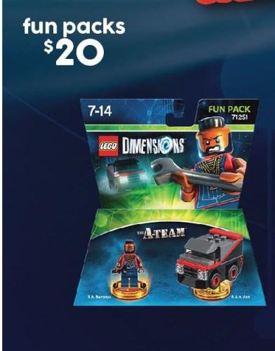 $20 LEGO Dimensions Fun Packs @ Target