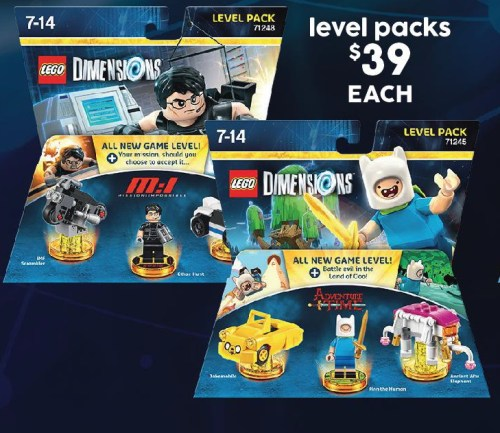 $39 LEGO Dimensions Level Packs @ Target