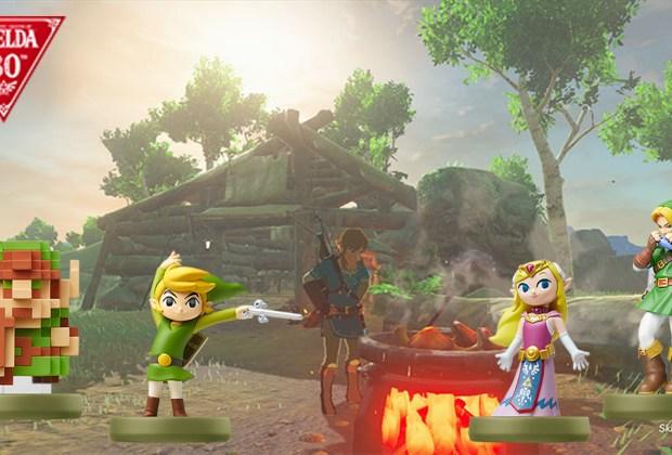 The LEgend of Zelda: Breath of the Wild - 30th Anniversary amiibo Compatibility