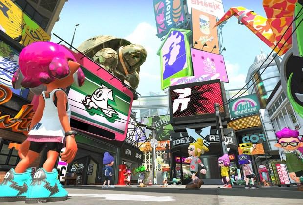 Splatoon 2 on Nintendo Switch