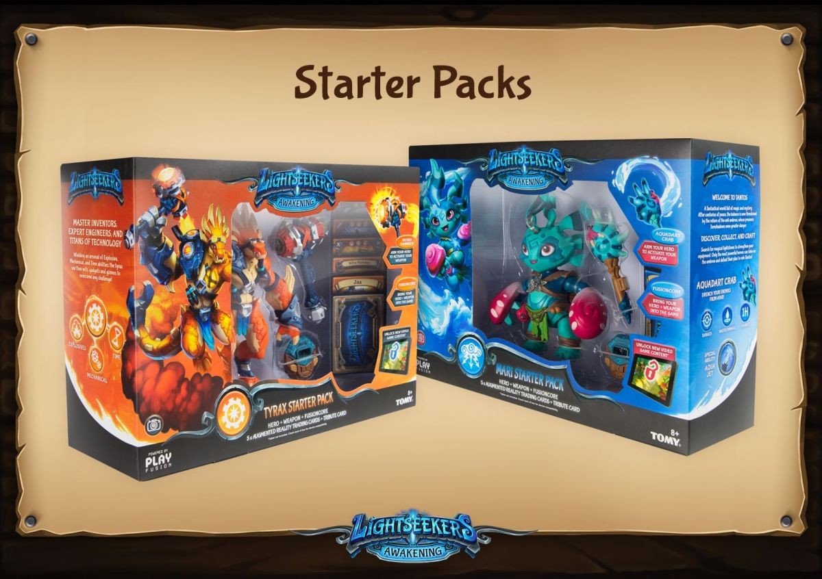 Lightseekers - Starter Pack packaging