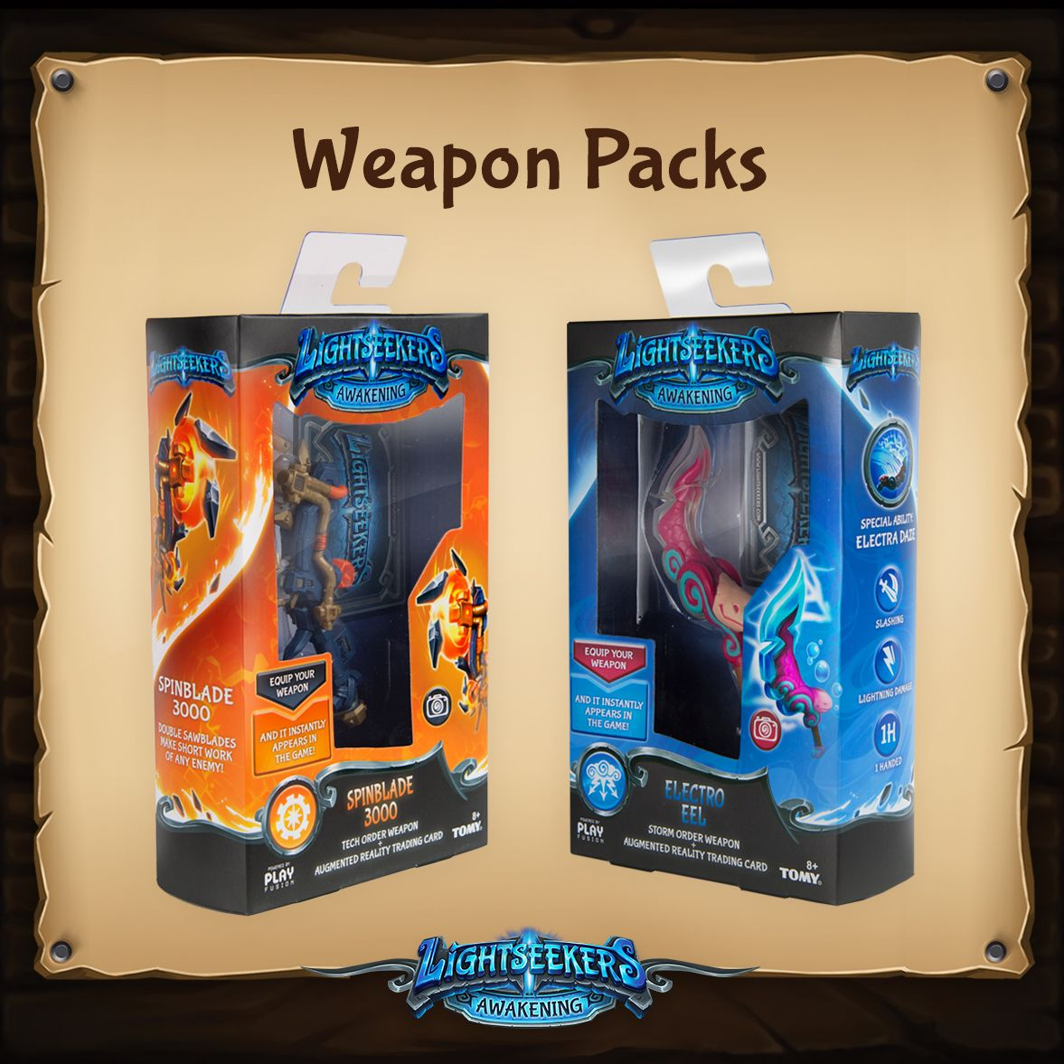 Lightseekers - Weapon Pack packaging