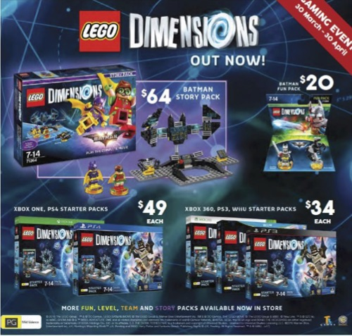 Price Guide – LEGO Dimensions Starter Packs and LEGO Batman Movie ...