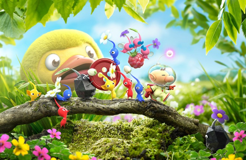 Hey! Pikmin for 3DS