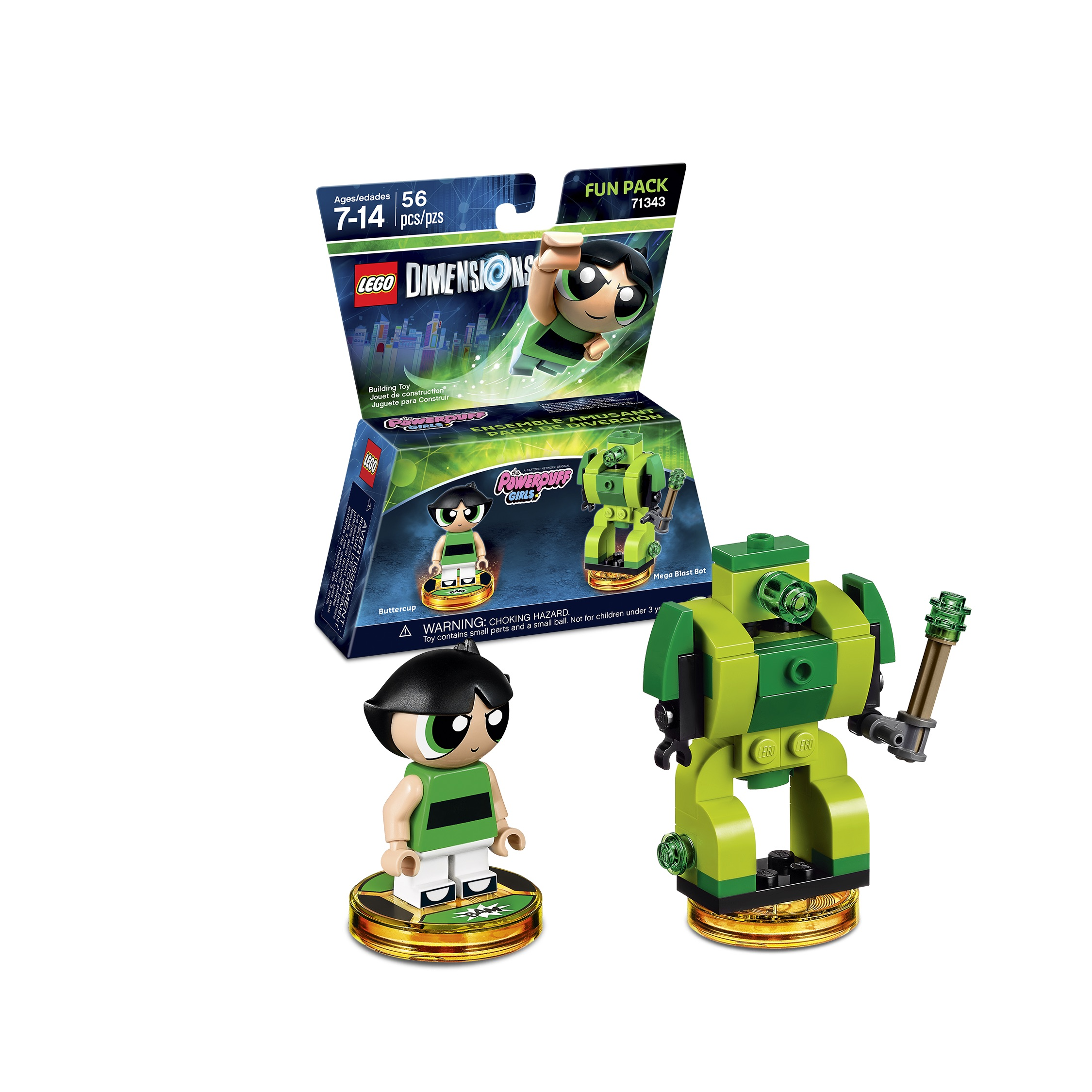 LEGO Dimensions - The Powerpuff Girls Fun Pack