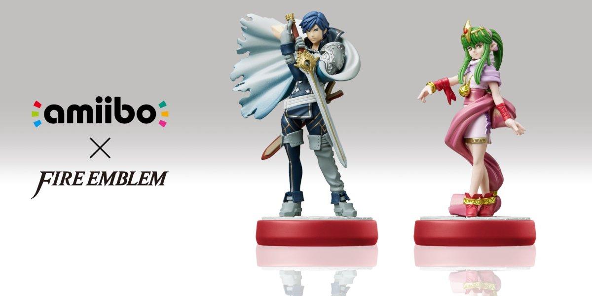Fire Emblem Warriors - Chrom and Tiki amiibo