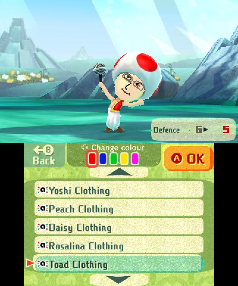 Miitopia amiibo Costume - Toad