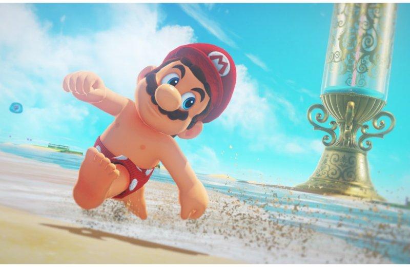 Super Mario Odyssey - Mario Has Nipples