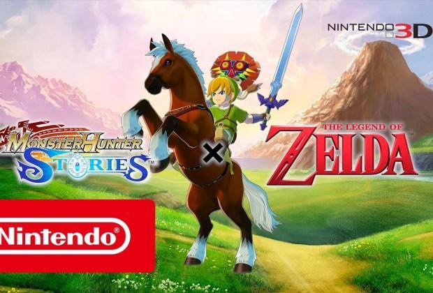 Monster Hunter Stories - The Legend of Zelda Crossover DLC