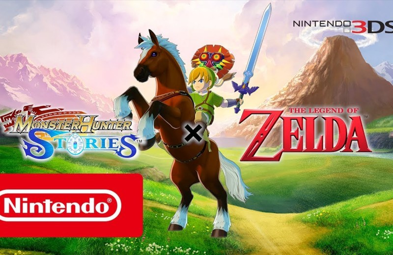 Monster Hunter Stories - The Legend of Zelda Crossover DLC