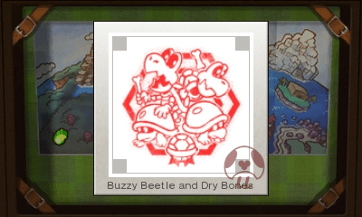 Mario & Luigi: Superstar Saga + Bowser's Minions - Buzzy Beetles and Dry Bones Stamp