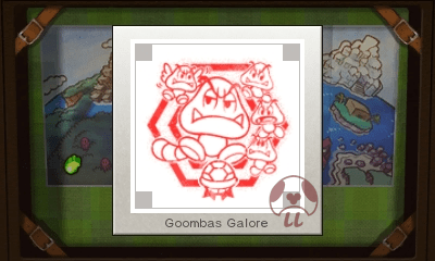 Mario & Luigi: Superstar Saga + Bowser's Minions - Goombas Galore Stamp