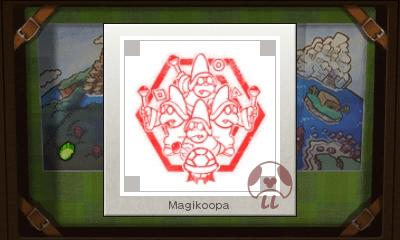 Mario & Luigi: Superstar Saga + Bowser's Minions - Magikoopa Stamp