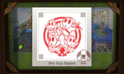 Mario & Luigi: Superstar Saga + Bowser's Minions - Shy Guy Squad Stamp
