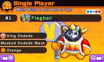 Kirby Battle Royale - King DeDeDe amiibo Costume