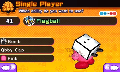 Kirby Battle Royale - Qbby amiibo Costume