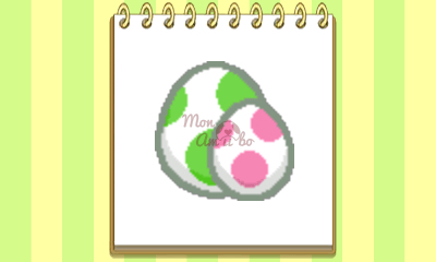 New Style Boutique 3/Style Savvy 3 - Yoshi amiibo emblem