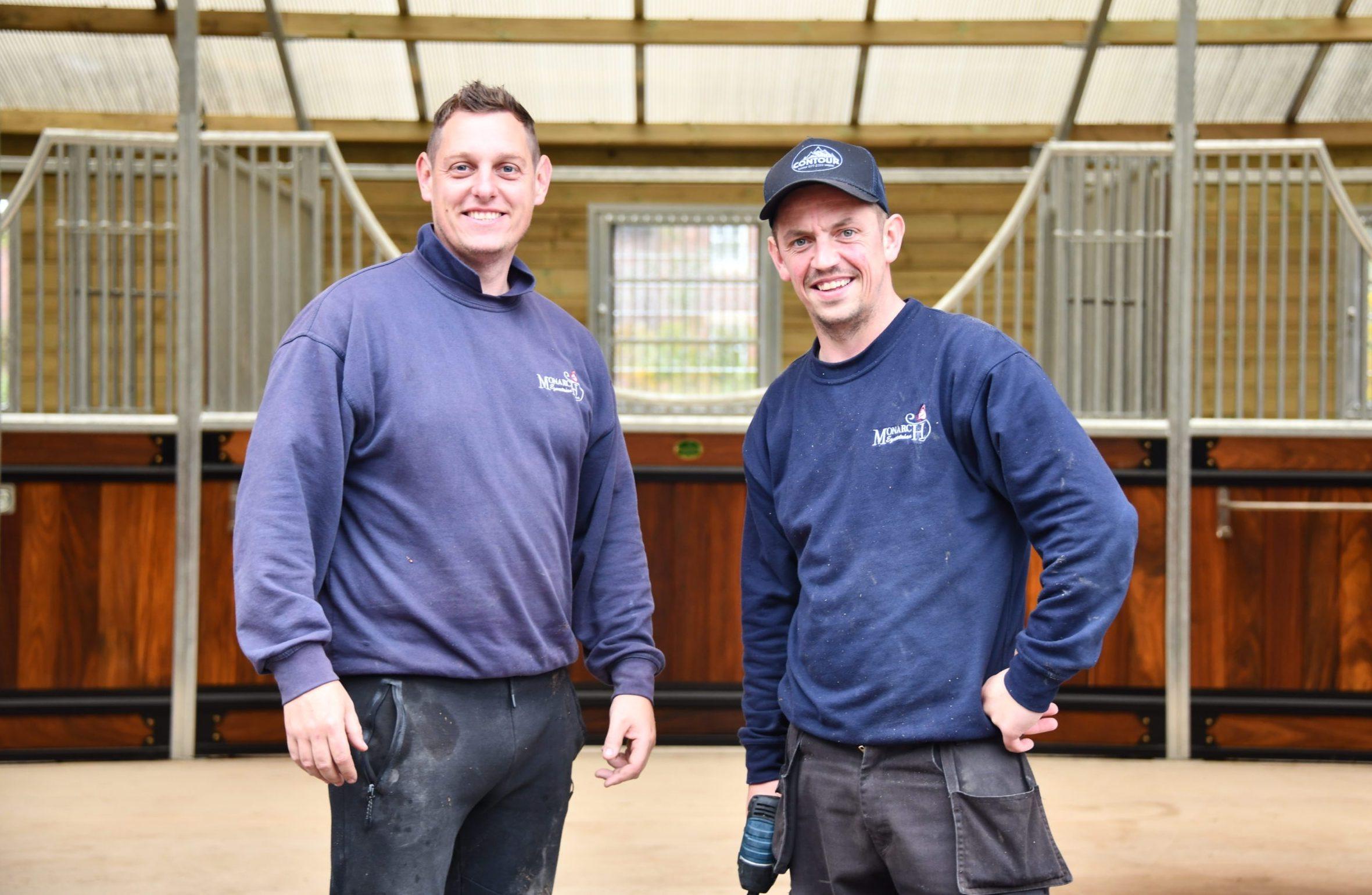 Monarch Equestrian fitting team