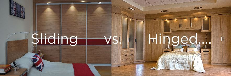 The War of the Wardrobes: Sliding vs. Hinged Fitted Furniture