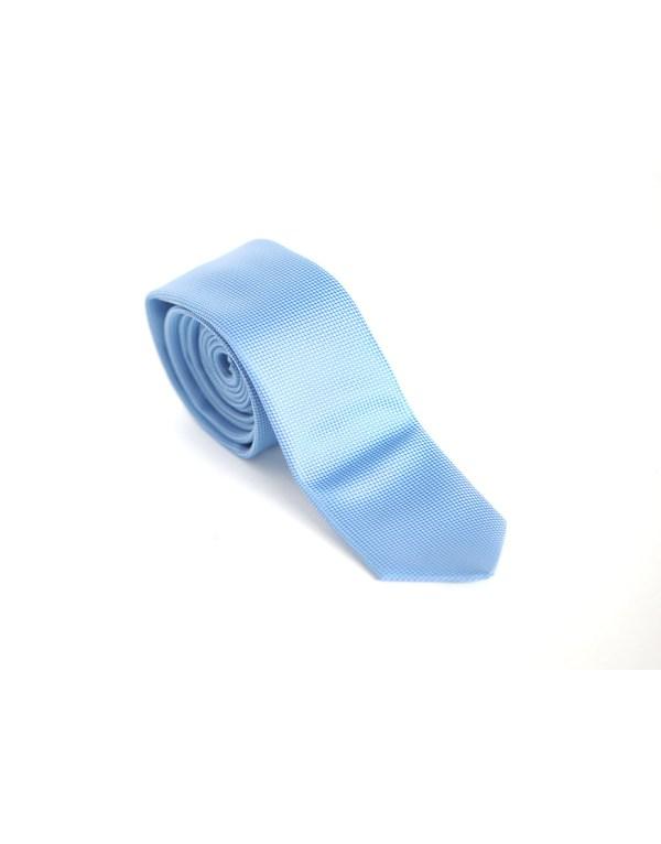 Cravata Barbati Azurie Microfibra Eleganta Slim 80 Lei