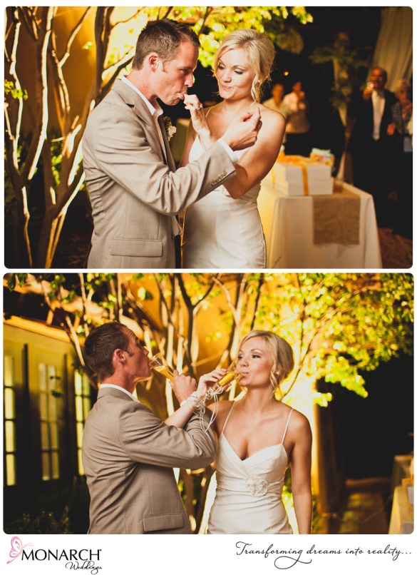Cake-cutting-Cupcakes-Rustic-Shabby-Chic-Wedding-Del-Sur-Ranch-House