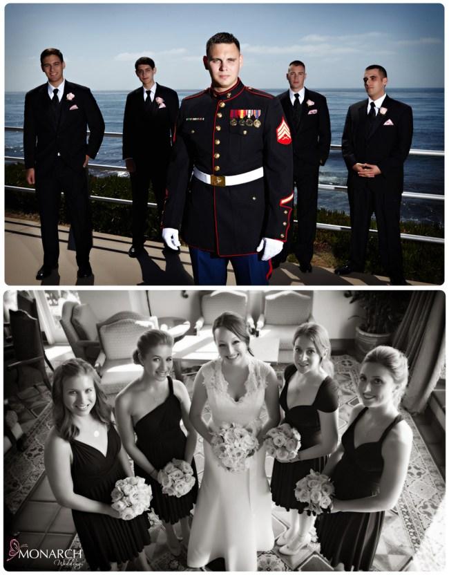 Bridal-parties-la-valencia-hotel-wedding