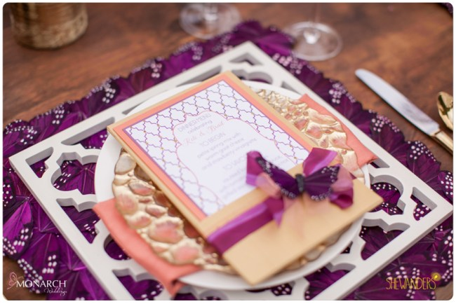 J-Grace-menu-purple-monarch-butterfly-placemat
