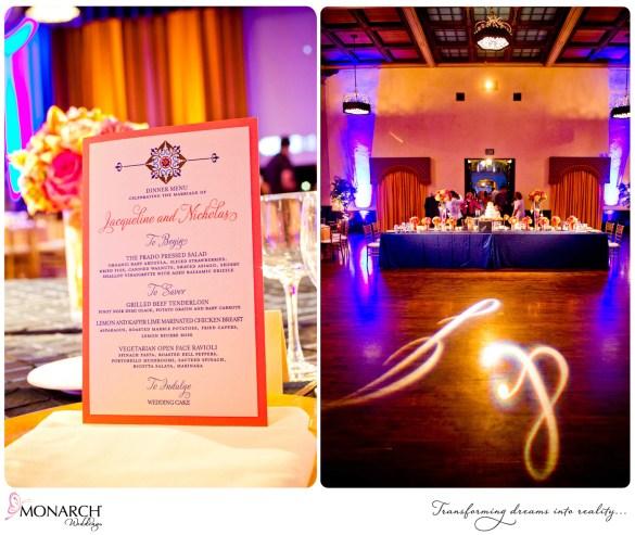 Prado-Wedding-Tropical-Theme-Menu-JGrace-Gobo-Dance-floor