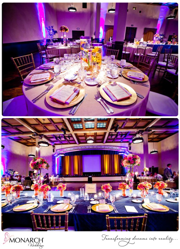 Prado-Wedding-Tropical-Gold-Chargers-Submerged-Centerpieces