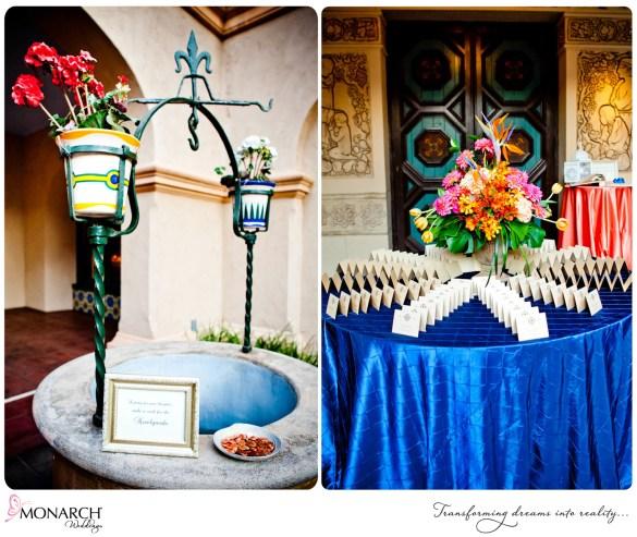 Prado-wedding-wishing-well-place-card-table