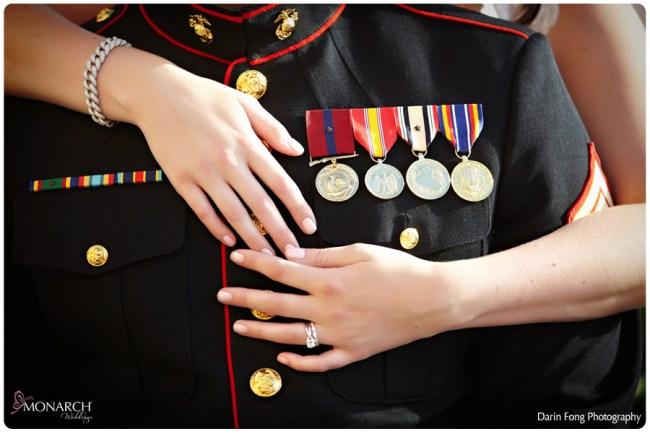 Marine-dress-blues-at-wedding-la-valencia-wedding