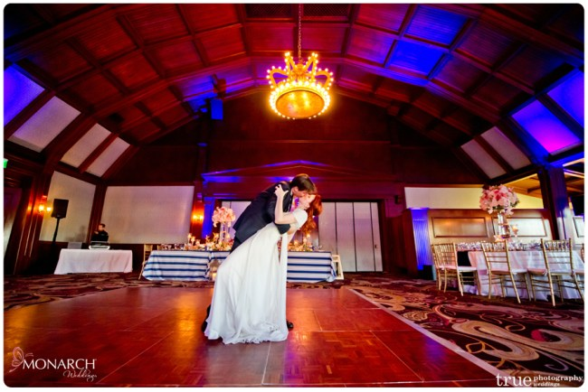 First-dance-Entrance-Nautical-theme-wedding-hotel-del-coronado