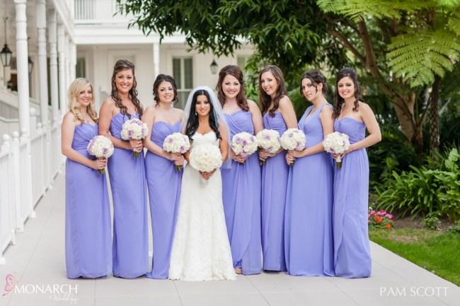 Violet-purple-bridesmaids-dresses-hotel-del-coronado-wedding