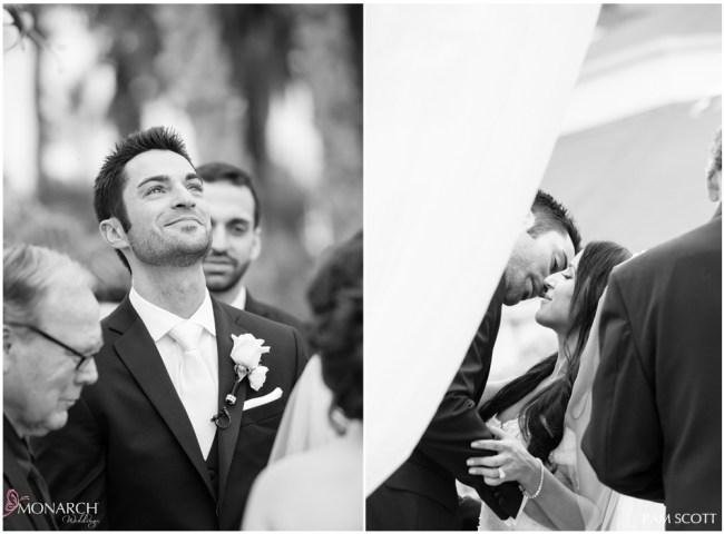 Groom-priceless-expression-ceremony-hotel-del-coronado-wedding