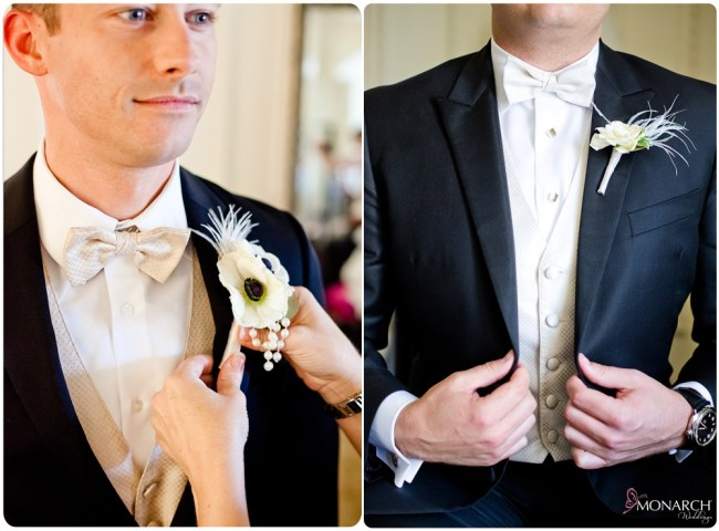 Grooms-boutonniere-feathers-san-diego-wedding-planner