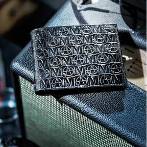 Monarchy London, Luxury Leather Goods for Stylish Gentlemen. Luxury billfold black leather wallet for men