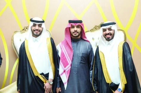 المهيني يحتفل بزواج سعود ودواس