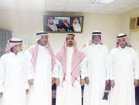 تكريم المتقاعدين في مركز أبو ضباع
