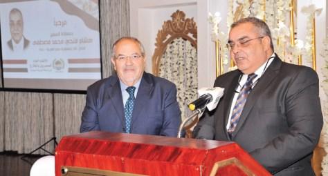 الاتحاد العام للمصريين يحتفي بالسفير هشام