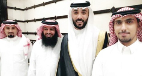 آل الحمد يحتفلون بزفاف أيمن