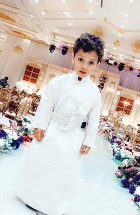 عبد الله حسام الحربي يأمل أن يصبح مهندسا.