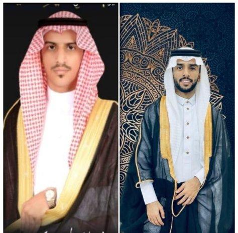 عدنان وعادل الحارثي يحتفلان بزواجهما