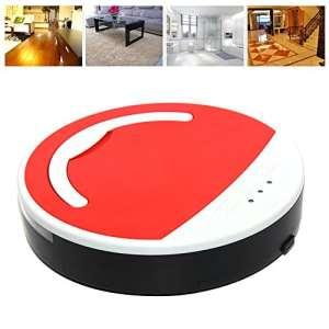 Vinteky Robot Aspirateur Intelligent (Rouge)