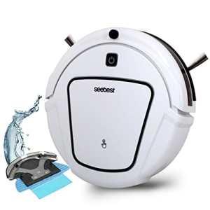 CCYOO D730 Momo 2,0 Aspirateur Robot avec Nettoyage Humide/Sèche Fonction Nettoyer Robot Aspirateur,White,EU