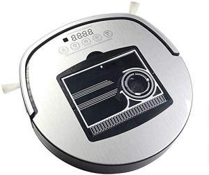 Robot Aspirateur automatique Balayer Dépoussiérage, Application mobile de contrôle à distance prévu de recharge automatique robot aspirateur portable, balayage et Mop 3 en 1 Catcher poussière xtrxtrds