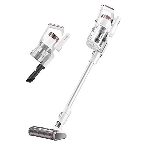 SMLZV Bâton Aspirateur sans fil, 23,000Pa, 2 en 1 bâton à vide, Léger, filtration HEPA, nettoyage puissant, jusqu'à 60 minutes de l'exécution, for la maison et voiture