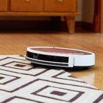 GYW-YW Nettoyage Robot Robot Aspirateur SweepWet Mop simultanément for Hard FloorsCarpet Run 120mins Avant automatiquement Charge, or rose (couleur: or rose)