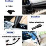 sunjiaxingzd Aspirateur à main, aspirateur de voiture, sans fil, portable, haute puissance d'aspiration pour aspirateur humide et sec